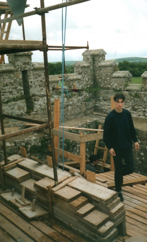On the Tower in 1991.
