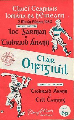 1962 Programme.