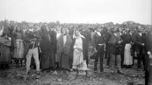Witnesses of the October 13, 1917, Miracle of the Sun in Fatima, Portugal