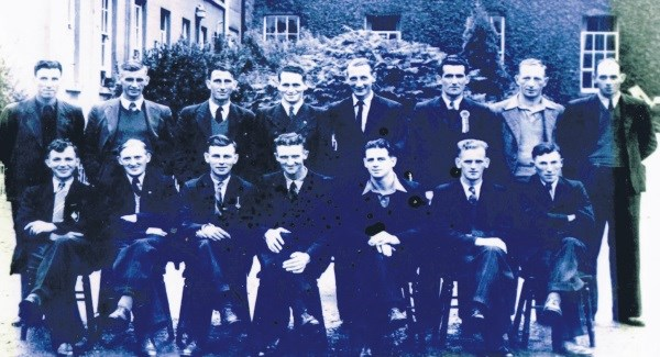 1945 All Ireland Winning Tipperary Team  - John Coffey Back Row 3rd from Left