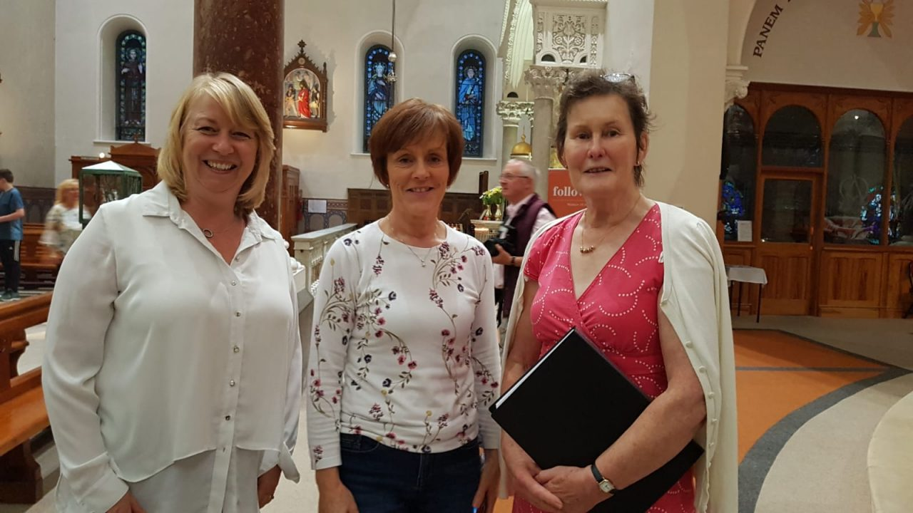 WMOF Ceremony in Thurles Cathedral, 21st Aug. 2018.