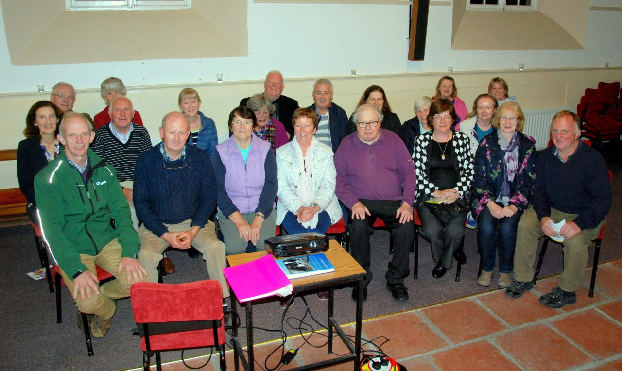 """Ardmayle Heritage Society: """"Tracing your Ancestors"""" by Noreen Higgins, 12/9/2018."""