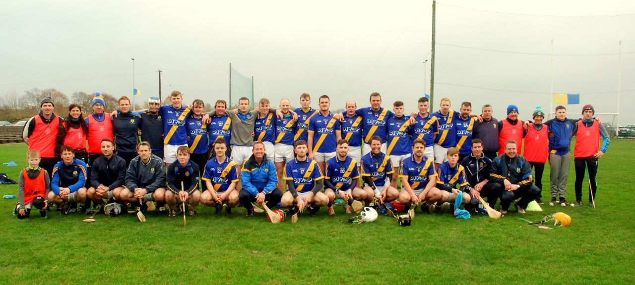 Boherlahan-Dualla Junior Hurling team, and officials, that played Cloughduv of Cork in Saturday's Munster Club Championship semi-final.