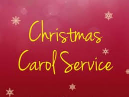 Choir notice: CHRISTMAS CAROL SERVICE & REHEARSALS.