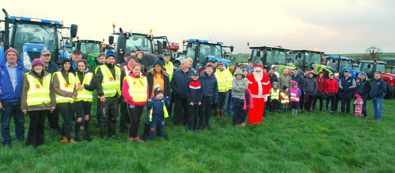 Tractor Run to Cahir on Saturday evening, 8th Dec.