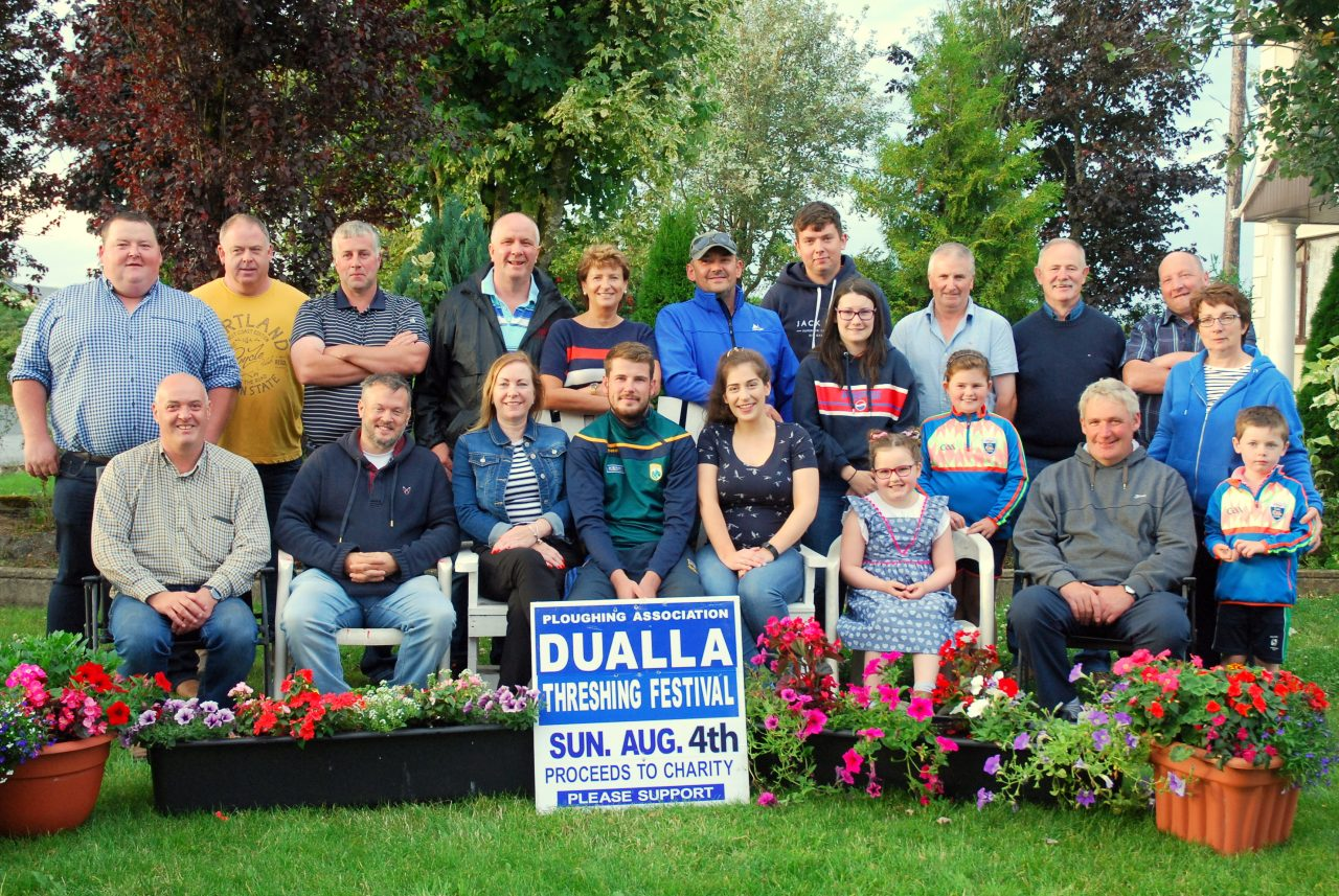 The Dualla Threshing Festival Committee.