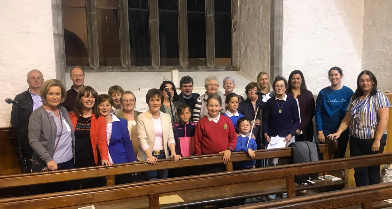 Boherlahan Parish Choir who sang at the evening Novenas in Holycross last Wednesday.