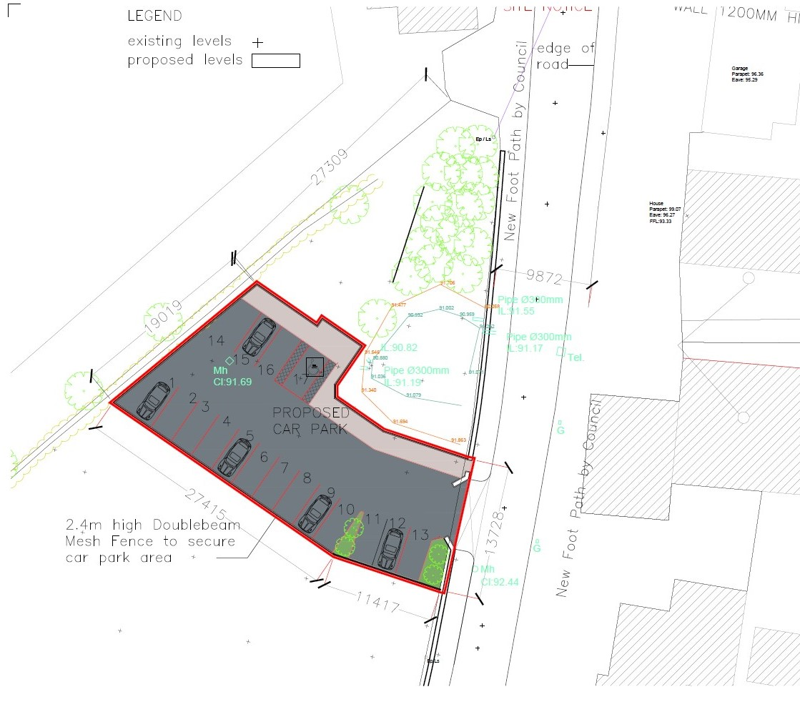 Proposed New Car Park