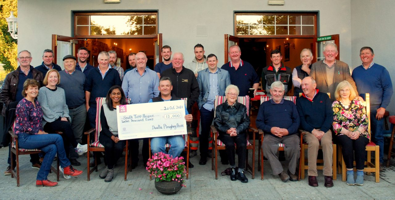 Presentation of €12,000 to South Tipp Hospice